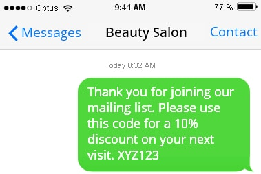 Branded SMS Messaging